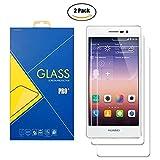 [2 Pack] Pellicola Vetro Temperato Compatibile Huawei Ascend P7 / L10 / L00 / L05 / Sophia - Schermo Antiurto Antigraffio