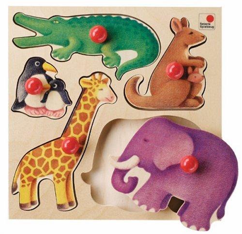 Selecta - 2051 - Puzzle - Puzzle en Bois - Zoo