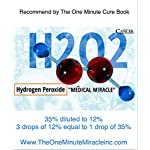 12% Hydrogen Peroxide Food Grade - 4 oz Bottle with Dropper 8 Recommended By: The One Minute Cure Book 12% Hydrogen Peroxide Food Grade AMAZON'S NEW POLICY - Only 12% or less strength can be only be sold here.