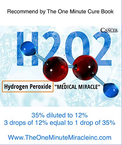 12% Hydrogen Peroxide Food Grade - 4 oz Bottle with Dropper 2 Recommended By: The One Minute Cure Book 12% Hydrogen Peroxide Food Grade AMAZON'S NEW POLICY - Only 12% or less strength can be only be sold here.