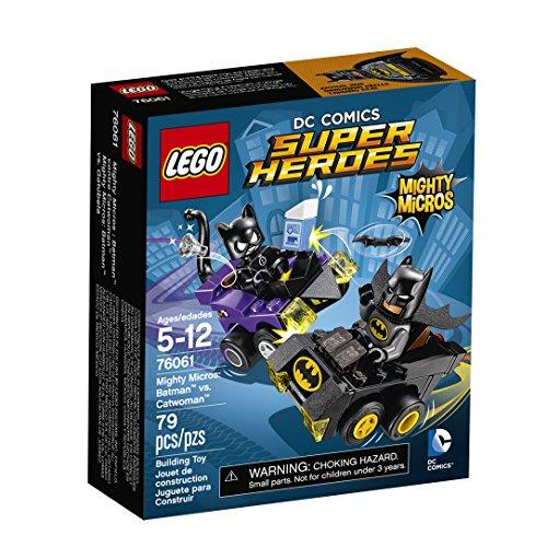 LEGO Super Heroes Mighty Micros: Batman vs Catwoman 76061 Building Kit (79 Piece)