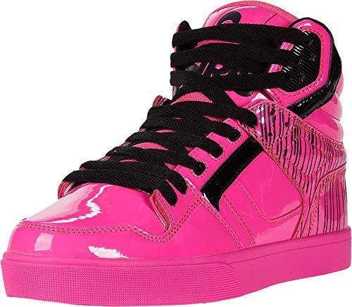 Osiris Men's Clone Skate Shoe, Pink/Drips, 9 M US