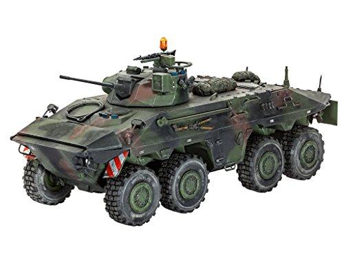 Revell 03036 - Modellbausatz  - SpPz 2 LUCHS A1/A2 im Maßstab 1:35