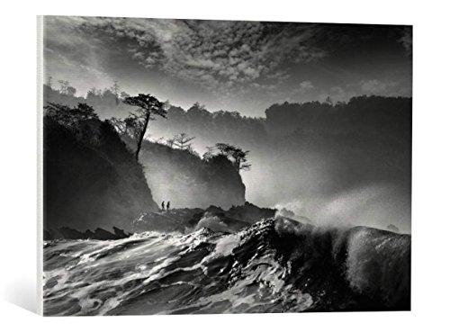 Kunst für Alle Cuadro en Lienzo: saelanwangsa Waves Present That Morning - Impresión artística, Lienzo en Bastidor, 75x50 cm