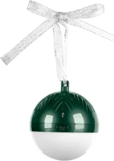 Link-Shine Smart Christmas Ball Bluetooth Speaker Ornaments Christmas Decorations Tree Balls Small for Holiday Wedding Party Decoration (Green)