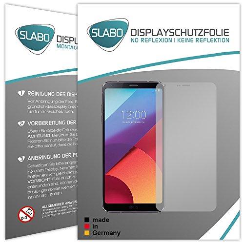 Slabo 4 x Pellicola Protettiva per Display Compatibile con LG G6 No Reflexion Opaca