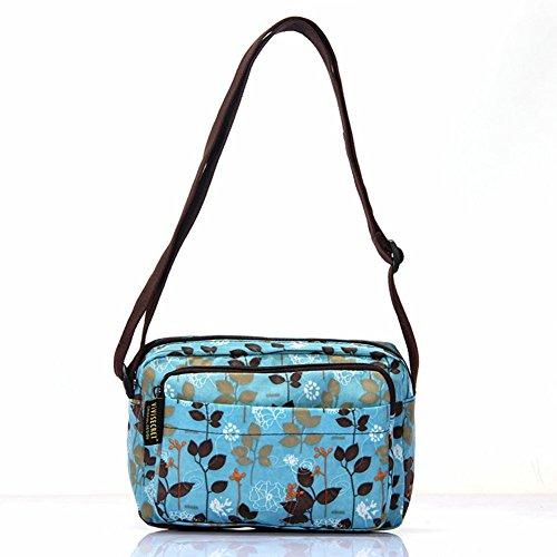 Sincere® Sac à bandoulière / Messenger sac / paquet fleurs-7