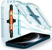 Spigen Apple iPhone 12 Pro Max Cam Ekran Koruyucu Kolay Kurulum Glas.tR EZ Fit (2 Adet) - AGL01791
