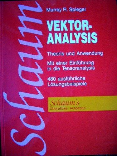 Vektoranalysis : German Version of Vector Analysis (Schaum's Outline)