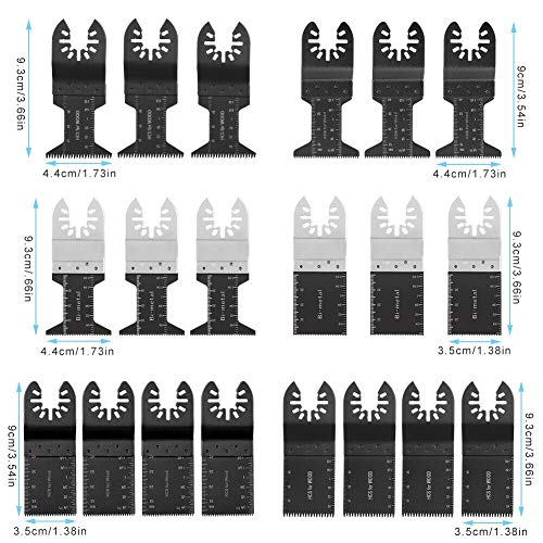 Learn More About akasaw98 20 Pcs Oscillating Multi Tool Saw Blade For Fein Multimaster Dremel Makita...