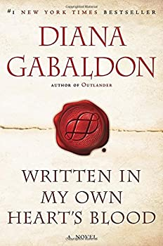 Paperback Written in My Own Heart's Blood (Outlander) Book
