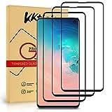KKTICK Protector de Pantalla Samsung Galaxy S10e, Vidrio Templado Samsung Galaxy S10e [con la Herramienta de Instalación] [9H Dureza] [Anti-Huella Digital] - Cristal Templado 3 Pack