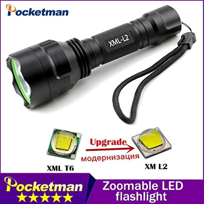 C8 xm-l2 LED-Taschenlampe, 4000 lm, wiederaufladbar, wasserfest