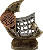 Art-Trophies AT815027 Trofeo Deportivo, Plateado, 11 cm
