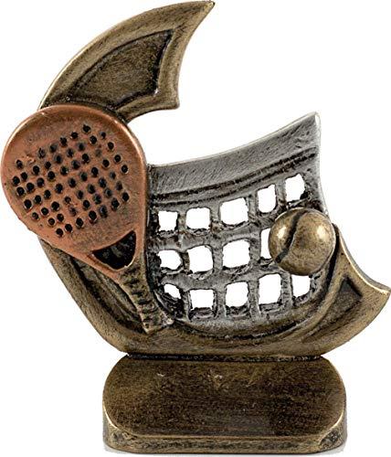Art-Trophies AT815027 Trofeo Deportivo, Plateado, 11 cm