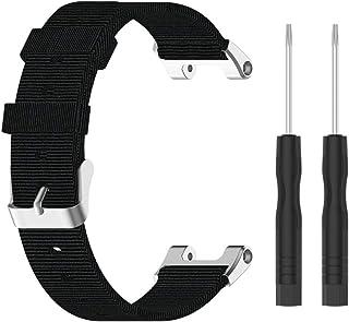 Cinturino per orologio Huami Amazfit T-Rex A1918 con perni a sgancio rapido per Huami Amazfit T-Rex A1918, in tela di nylo...