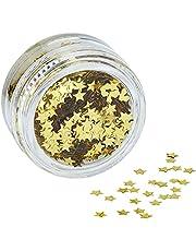 Cosmetische Glitter Stars voor gebruik op het gezicht - Goud