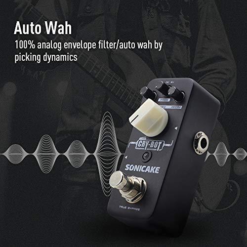 SONICAKE Cry-Bot Auto Wah Envelope Filter Funky Bass Guitar Pedal de efectos