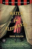 Book cover Water for Elephants by Sara Gruen