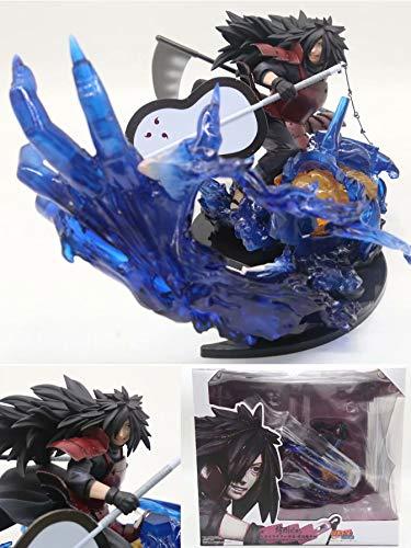 MIRECLE El Traje de Anime Uchiha Banzai Debe Estar Decorado con un Regalo de decoración 20 cm