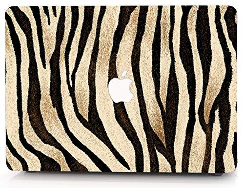 Brown Zebra Pattern Hard Case for MacBook Pro 13 inch Case Model A1278 (2008-2012 Release) Cover RQTX –(Brown Zebra)