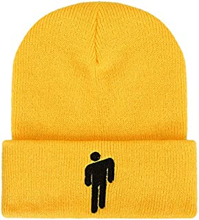 Comfortable Soft Slouchy Hot Topic Logo Beanie Knit Hat Stretchy Cap for Men Women