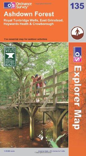 OS Explorer map 135 : Ashdown Forest