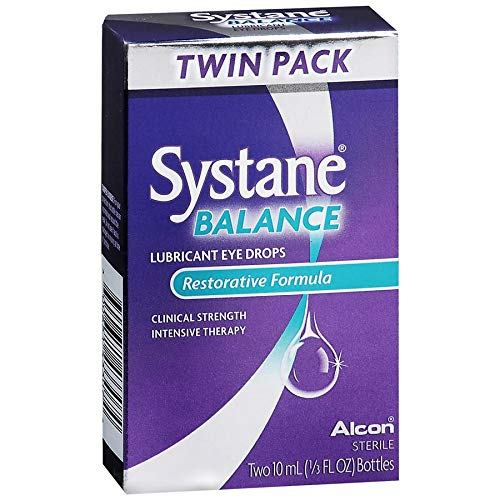 Systane Balance Gleitmittel Augentropfen, erholsames Formel