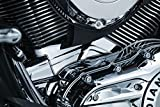 Kuryakyn 5737 Motorcycle Accent Accessory: Cylinder Base Cover for 2014-19 Indian Motorcyc...