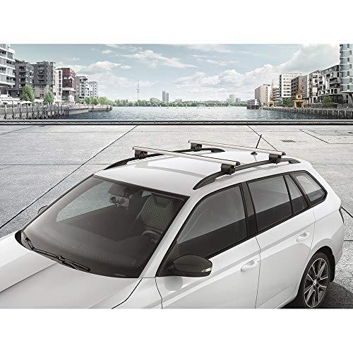 Skoda 6V9071151 - Barras portaequipajes para vehículos Combi, Solo con rieles de Techo