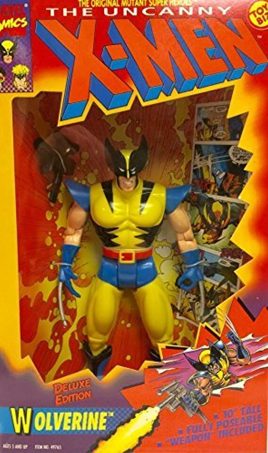The Uncanny X Men 10 Inch Deluxe Edition Wolverine Figure by X Men