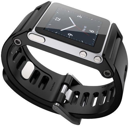 TikTok Multi Touch - Pulsera para iPod Nano 6G Negro Negro Talla:Talla única