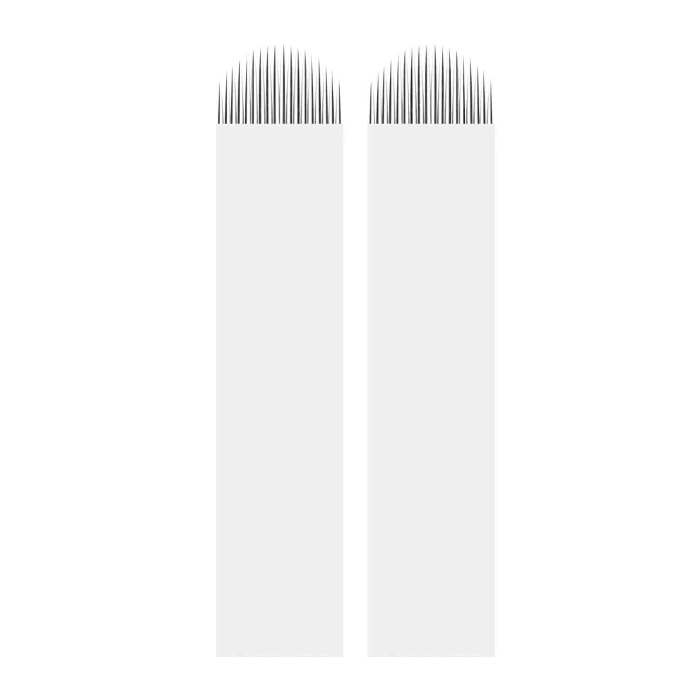Microblading Needles – BIOMASER 50pcs Blade famous Max 69% OFF Shape 18 Pins U