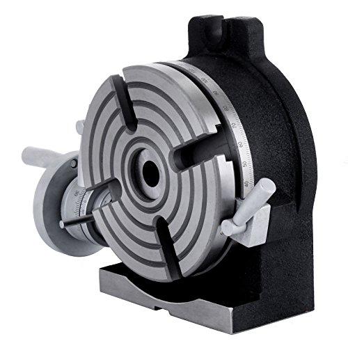 BuoQua 150mm Divisore Tavola Orizzontale Verticale Scatti Rapido Tavola Circolare