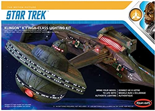 Polar Lights LED Set für Round 2 Klingon K't'inga I.K.S. AMAR Modellbausatz, Ma ab 1 350