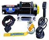 Superwinch 1140230 Black 12 VDC LT4000ATV SR Winch - 4000 lb. Load Capacity