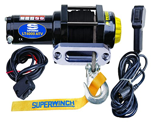 Superwinch 1140230 Black LT4000ATV Winch