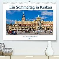 Ein Sommertag in Krakau (Premium, hochwertiger DIN A2 Wandkalender 2022, Kunstdruck in Hochglanz): Fotowanderung durch Krakaus historische Innenstadt (Monatskalender, 14 Seiten )
