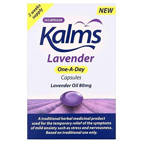 Kalms Lavender One-A-Day Capsules (14 Capsules)