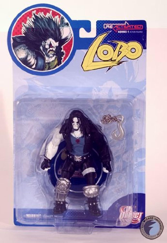 mejor marca Lobo  DC Direct Re activado figura figura figura de acción serie 1by DC Comics  descuentos y mas
