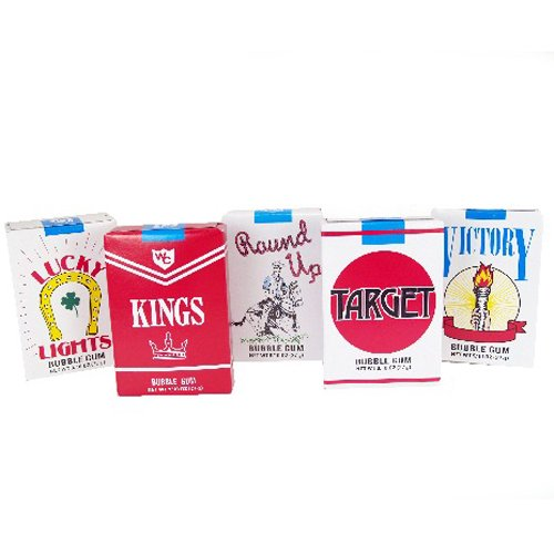 WORLD'S Genuine Free Shipping Cigarette Bubble 24 count Gum sold out