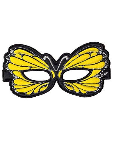 Dreamy Dress-Ups 50764 masker, stofmasker, geel vlinder, geel