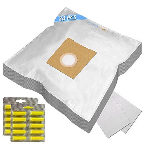 SUPER KIT - 20 Sacchi / Sacchetti (Microfibra) + 20 PROFUMI + 2 Filtri Per aspirapolvere Bosch BSGL 32223 GL3 PRO PARQUET3