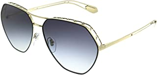 Bvlgari Octagon Sunglasses for Women, Grey, 0BV6098 20188G 61