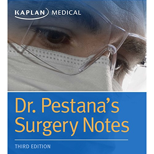 Dr. Pestana's Surgery Notes audiobook cover art