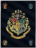 BERONAGE Große Harry Potter Hogwarts Wohndecke 150 x 200
