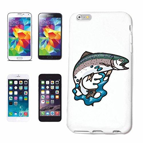 Reifen-Markt Handyhülle kompatibel für iPhone 5 / 5S Forelle Karpfen ANGELRUTE HOCHSEEFISCHER Fische HOCHSEEFISCHER FISCHERBOOT ANGELHACKEN ANGELSCHNUR KESCHER Har