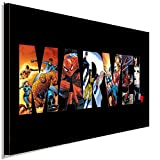 AK ART Marvel Helden Leinwandbild Kunstdruck Wandbild