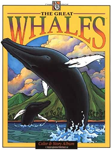 The Great Whales: Color & Story Album Includes Poster!