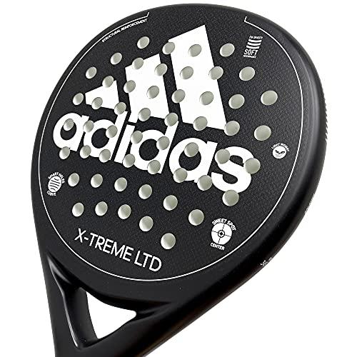 Adidas X-Treme LTD, racchetta da paddle, bianco e nero